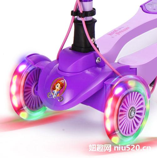 迪士尼儿童滑板车怎么样