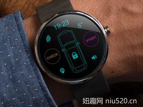 Moto 360智能手表的特点