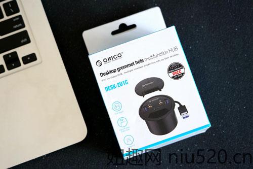 ORICO桌洞式分线器评测