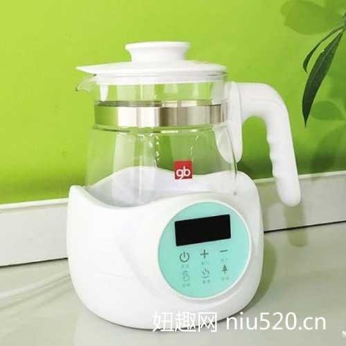 好孩子恒温调奶器 烧水除氯,给孩子更健康的水源!