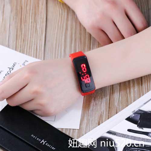 奥瑞森夜光手表 轻量级LED夜光手表