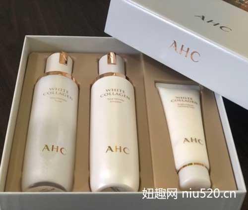 AHC胶原蛋白水乳套装怎么样