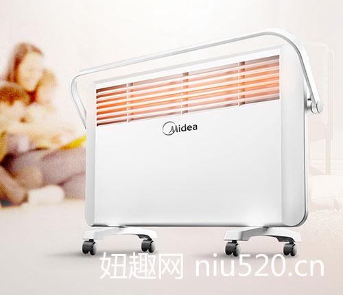 美的电暖气价格