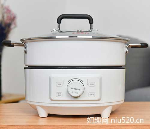 圈厨升降式电火锅 让吃火锅变得更有乐趣!